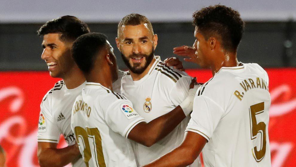 El Real Madrid acaricia el título de LaLiga.