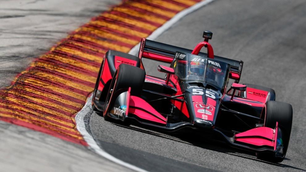 Álex Palou Road América Indycar 2020