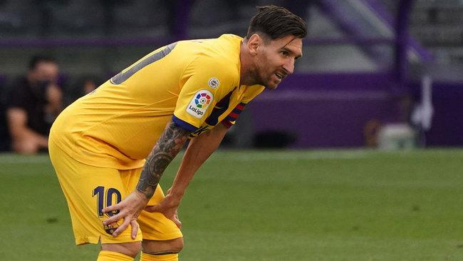 El parón ha cambiado a Messi