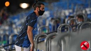 Bale, durante el partido del pasado viernes contra el Alavés en...