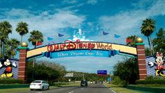 La entrada a Disney World