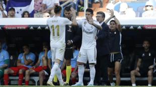 Bale y James, tres años de desencuentros con Zidane