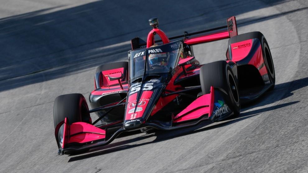 Álex Palou Road América Indycar