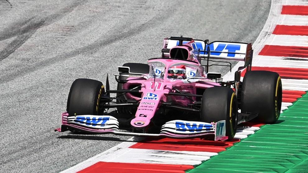El piloto mexicano remontó once posiciones.