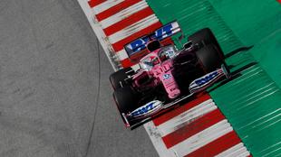 Sergio 'Checo' Pérez terminó sexto en el Gran Premio de...