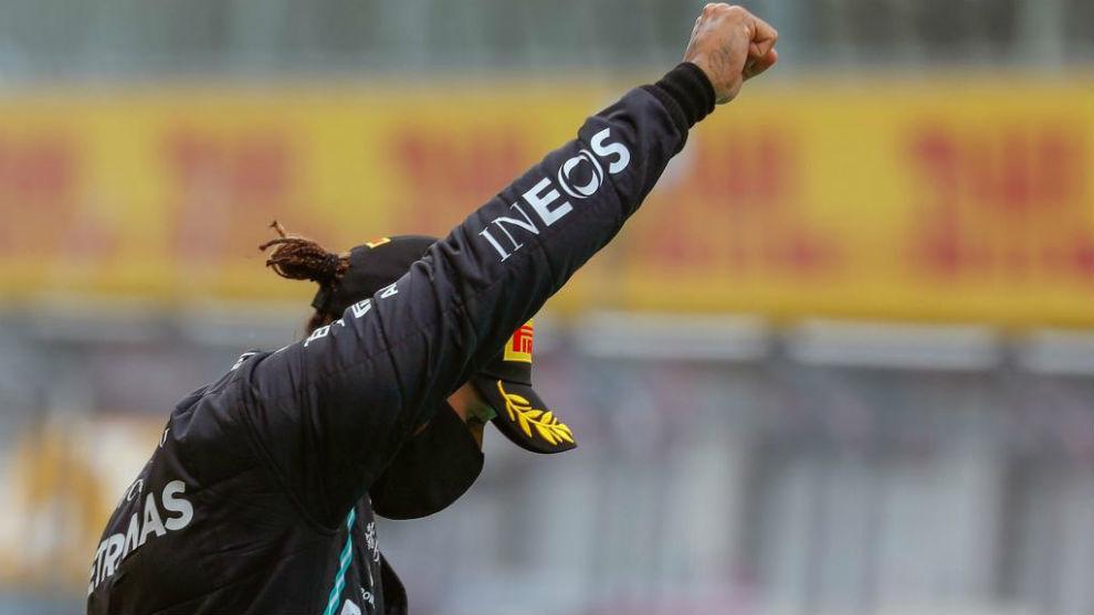 10 para Hamilton, 0 para Leclerc