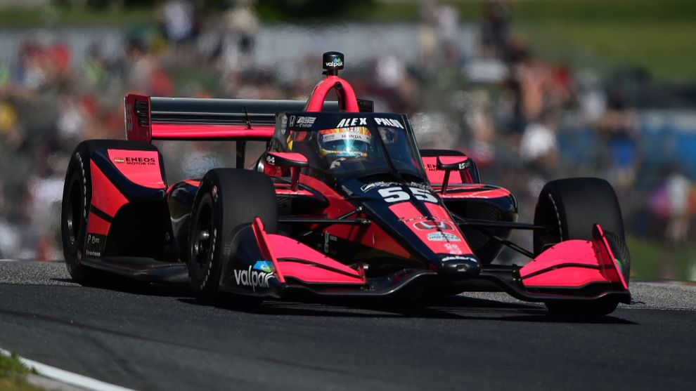 Álex Palou vuelve a brillar y a O'Ward se le escapó el primer triunfo de McLaren