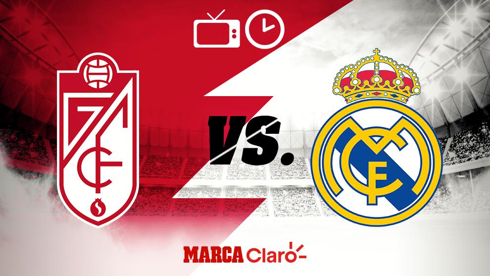 Granada vs Real Madrid: Horario y dónde ver en vivo