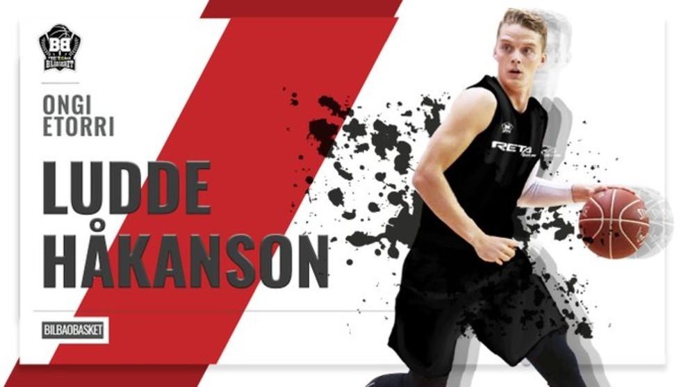 Ludde Hakanson firma por dos temporadas con el RETAbet Bilbao