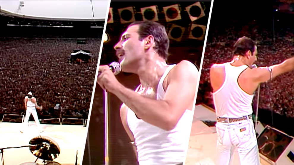 El concierto épico de Queen en el Live Aid (1985)