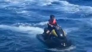El hijo de Cristiano se mete en un lío por este paseo aparentemente inocente en moto de agua