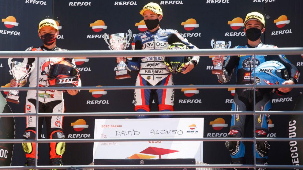 David Alonso, ganador y líder de la European Talent Cup