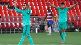 Ramos y Varane ya se saborean la corona en España.