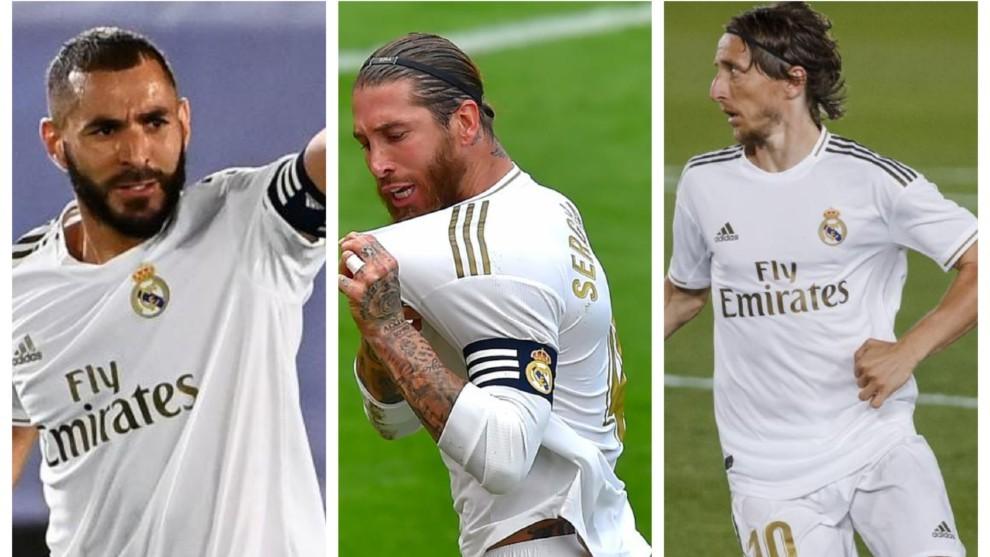 Ramos, Modric y Benzema: el tridente de los cien años