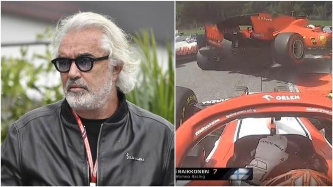 Briatore en el GP de Azeirbayán.