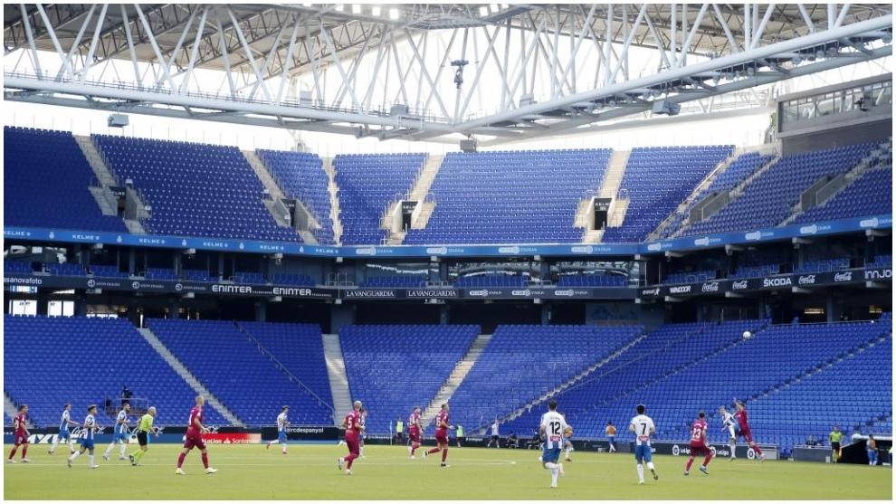 Imagen de un Espanyol-Alavés disputado en el RCDE Stadium.