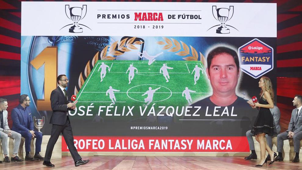 José Félix Vázquez fue el último campeón de LaLiga Fantasy MARCA.