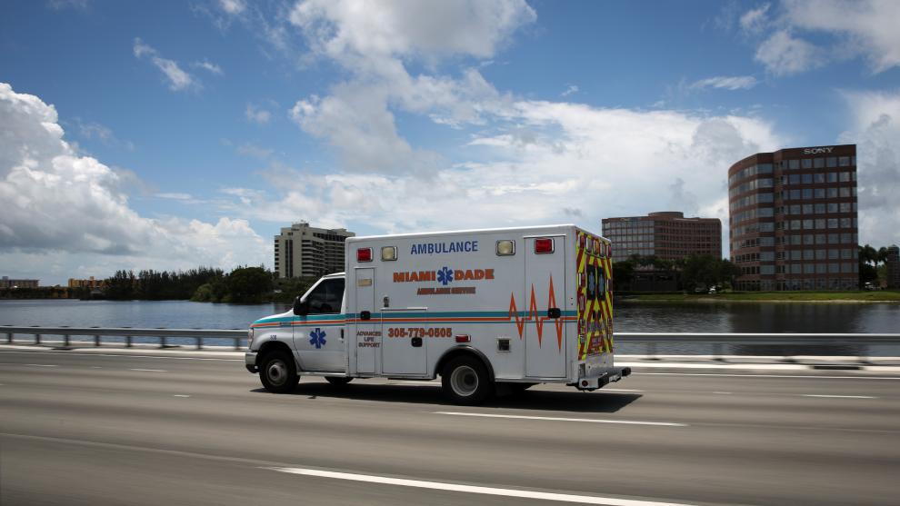 Los contagios de coronavirus en Florida representan el 25% de los...