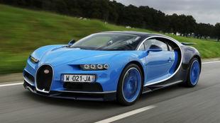 Bugatti Chiron, el coche más potente y más rápido del mundo.