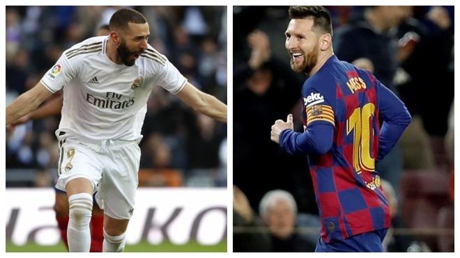 ¿La Liga de Messi o la Liga de Benzema?