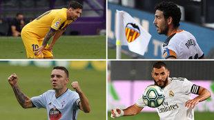 Messi, Parejo, Aspas o Benzema son 'jugadores fraquicia' y estrellas...