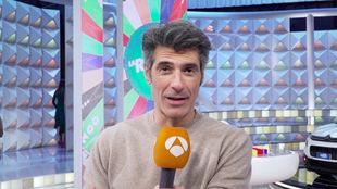 El presentador Jorge Fernández.