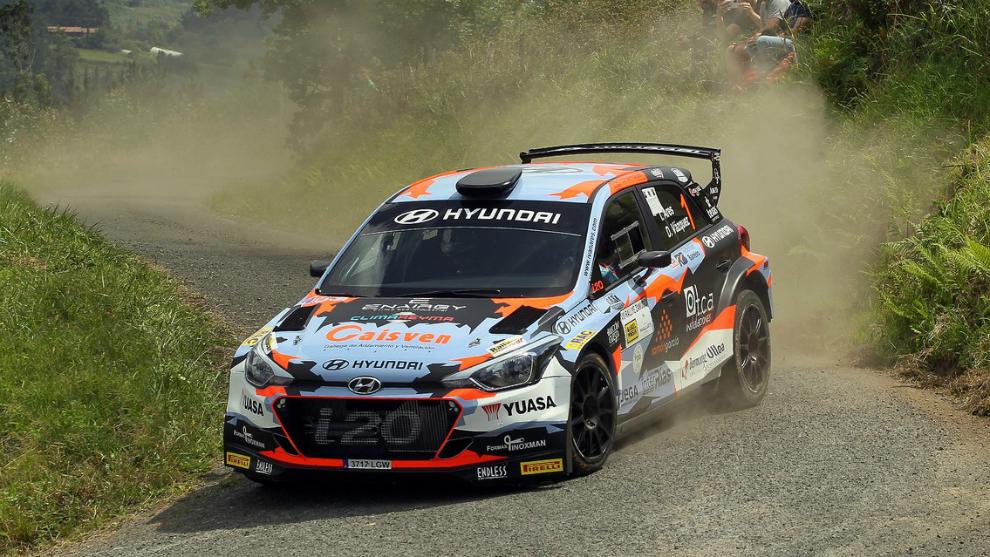 El gallego ganó un rally regional el pasado sábado en Bilbao.
