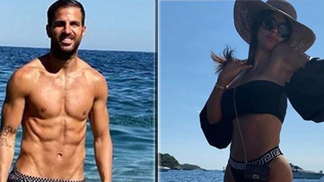 Cesc Fábregas (33 años) y Daniella Semaan (45 años), duelo de...