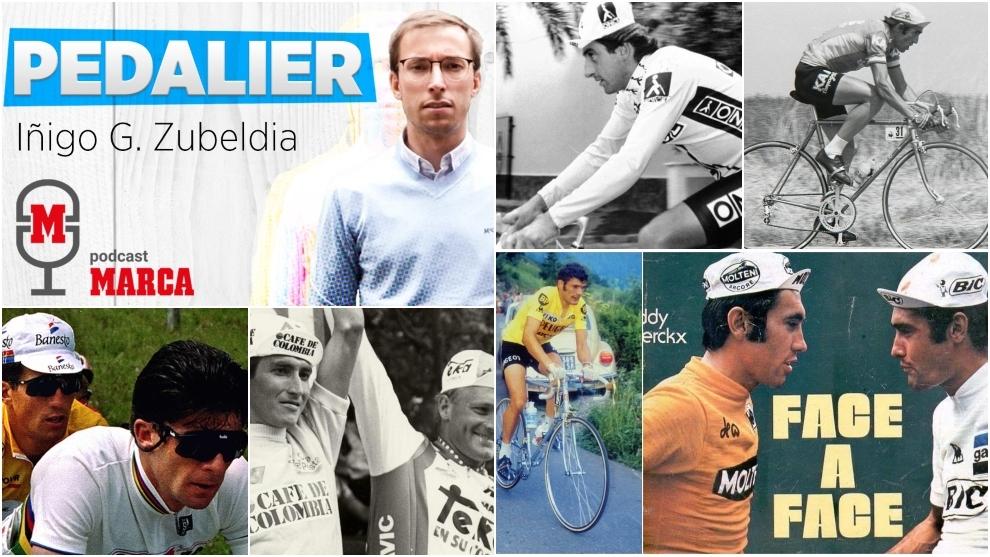 'Pedalier': Bugno, Lucho Herrera, Ocaña, Galdos... 10 historias sobre leyendas del ciclismo