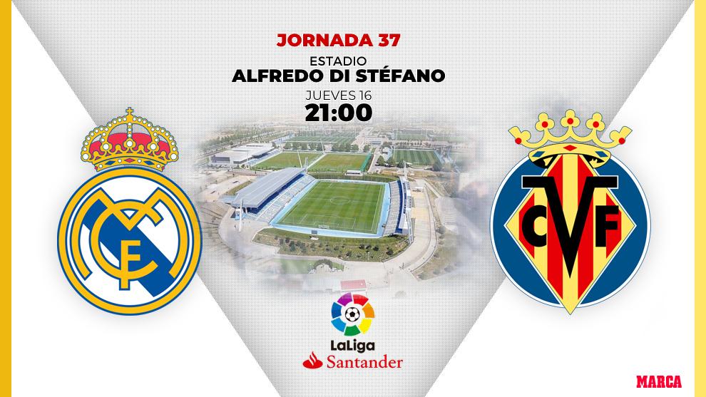 Alineaciones confirmadas del Real Madrid vs Villarreal: A por LaLiga con Hazard