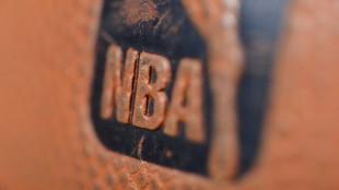Detalle de un balón de la NBA.