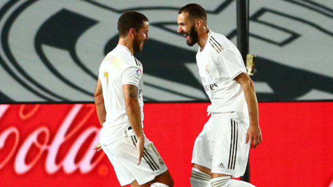 Benzema competes with his best version at Real Madrid