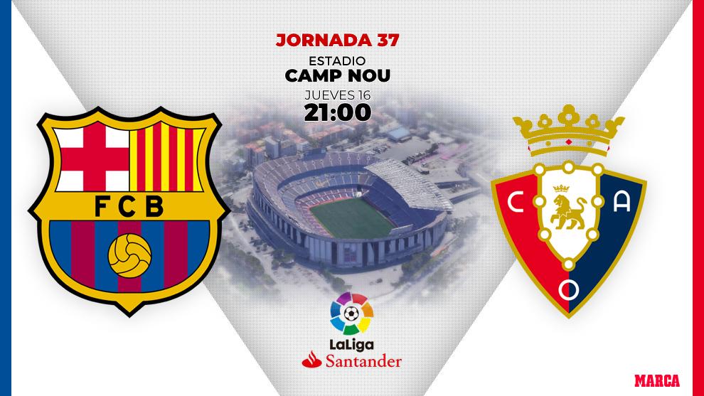 Barcelona vs Osasuna: Win the game, then pray