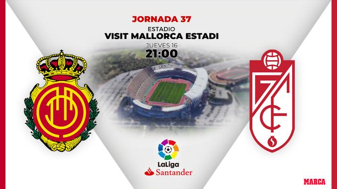 Encuentro entre el Mallorca y el Granada de Liga
