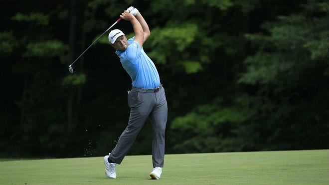 John Rahm, nuevo líder del Memorial de la PGA Tour