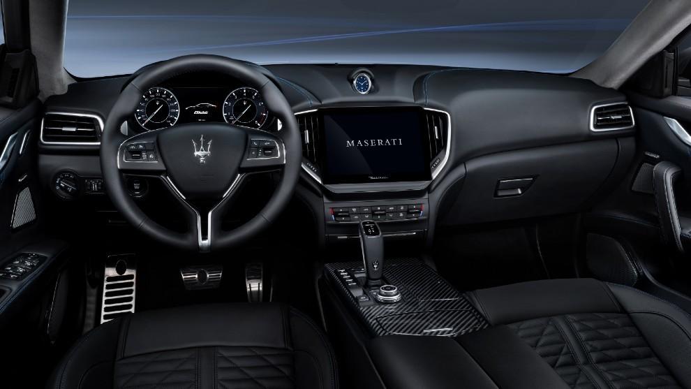 Interior del Maserati Ghibli Hýbrid novedad