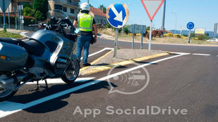 Las motos servirán para vigilar de forma especial a los conductores...
