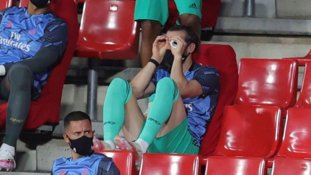 Gareth Bale during the Granada match