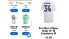 El Real Madrid pone a la venta la camiseta de campeones por error
