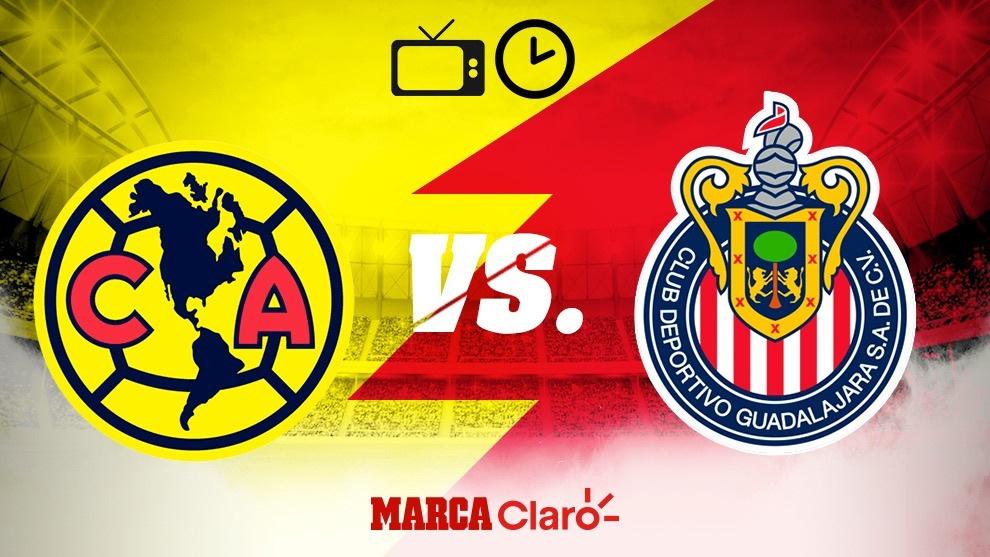 América vs Chivas: Clásico Nacional de hoy 16 de julio; semifinales...