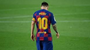 """Messi: """"Ya dije que así  era difícil ganar la Champions... y no nos daba ni para LaLiga"""""""