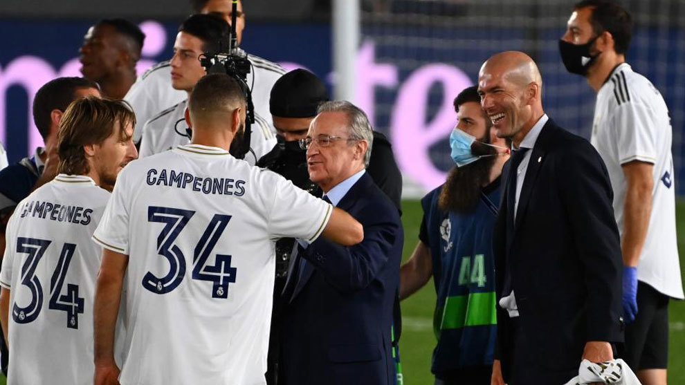 Florentino Perez: Ramos will stay at Real Madrid his whole life, the fans can relax