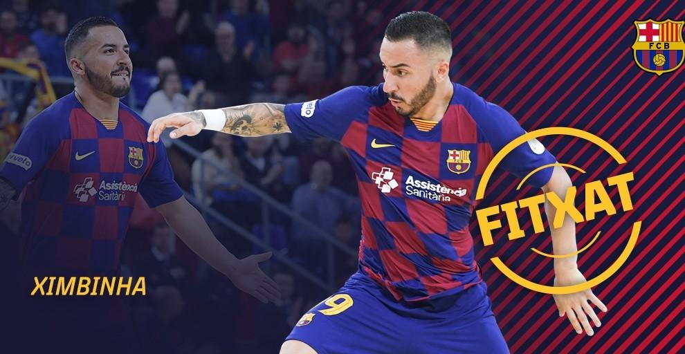 Ximbinha seguirá vistiendo la camiseta del conjunto catalán.