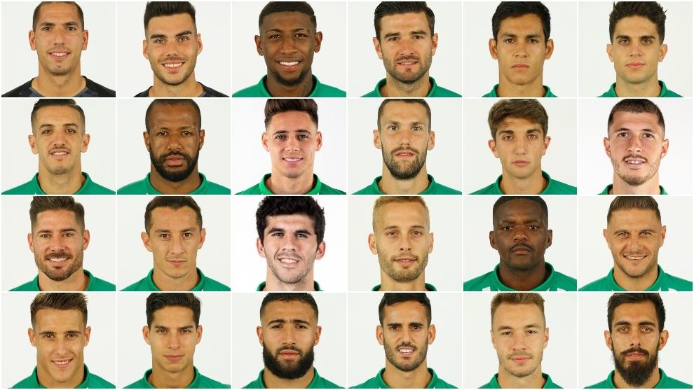 Plantilla del Betis de la temporada 2019-20