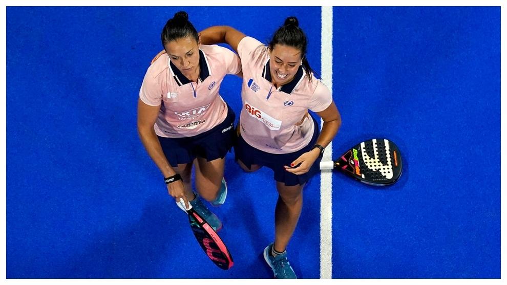 Riera y Araujo, tras vencer en cuartos de final