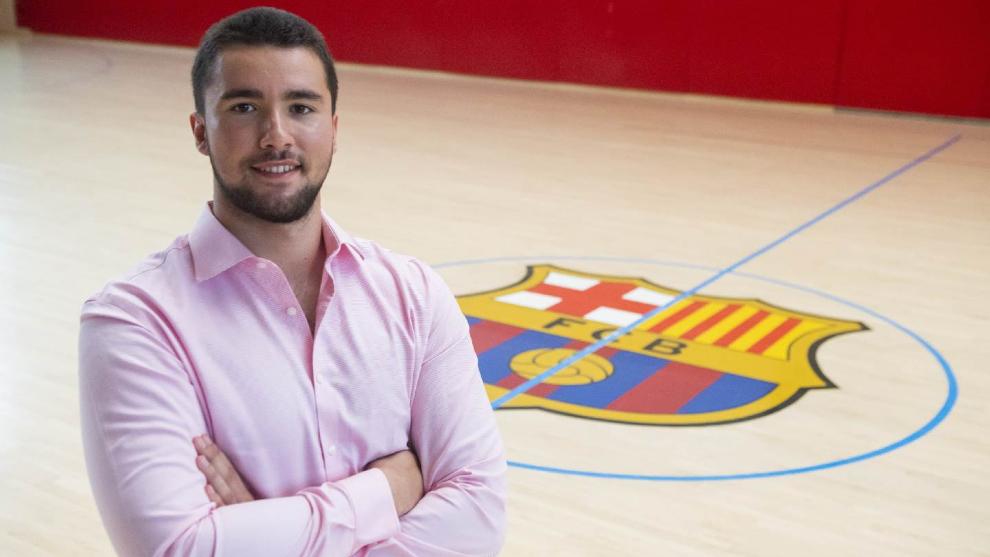 El pivote internacional portugués Luis Frade, nuevo jugador del...