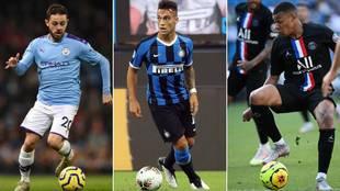 Bernardo Silva, Lautaro o Mbappé son algunos nombres del mercado de...