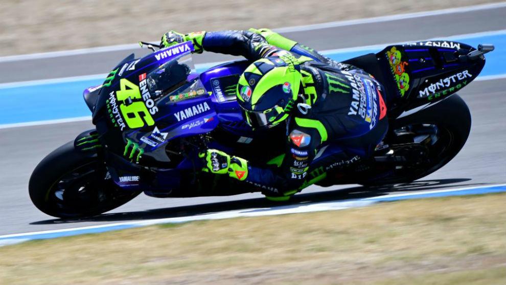 MotoGP: Dirección de carrera: No creemos que Rossi diera