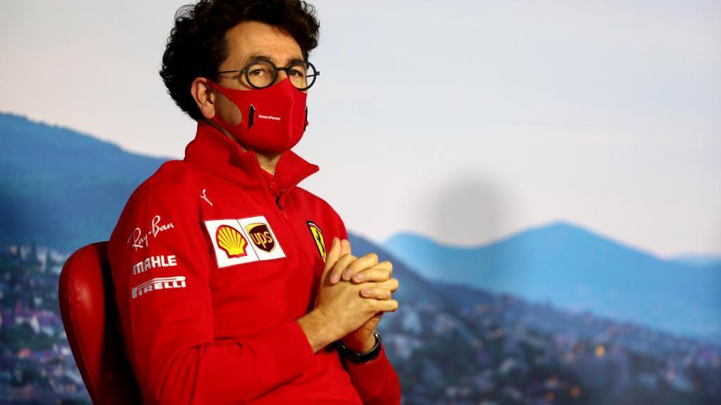 Binotto, jefe de la escudería Ferrari.