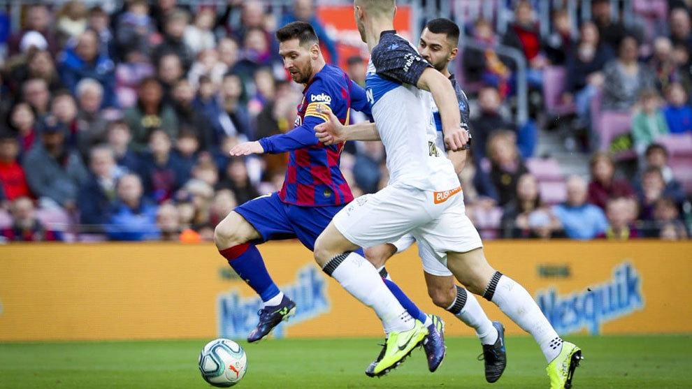 En el partido de ida, el Barca derrotó a los babazorros por 4-1.